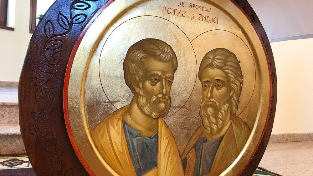 Icon of Saints Peter and Andrew