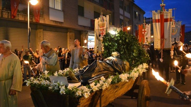 Padova. Sacra rappresentazione del Transito di Sant'Antonio