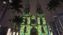 Telefonema e bênção do Papa Francisco ao povo de São Paulo