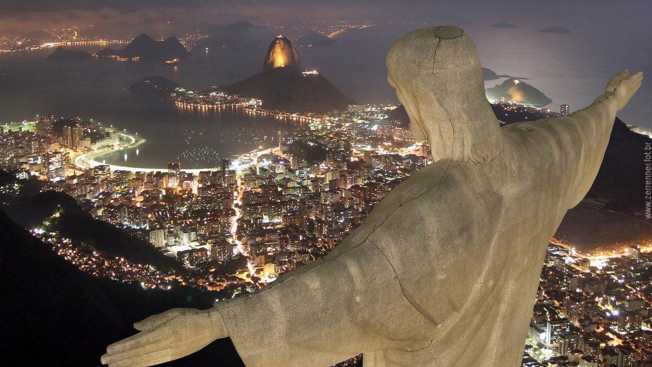 Papa: El Cristo Redentor de Río de Janeiro es una invitación a la fraternidad
