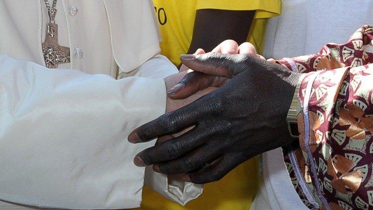 En juillet 2013, le Pape rencontrait des migrants ayant débarqué à Lampedusa, en Sicile