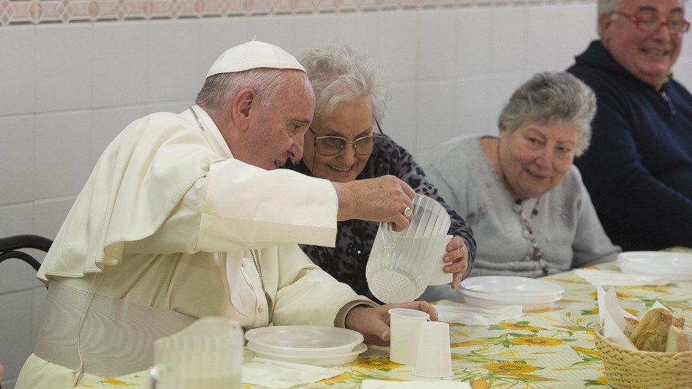 El Papa y los pobres