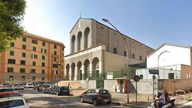 Papa Francisco Corpus Christi parroquia Casal Bertone