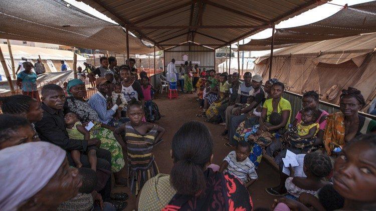 Réfugiés dans un camp du Kasaï. (Photo dillustration)