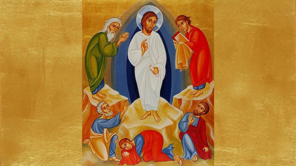 Icona della Trasfigurazione, Centro Aletti