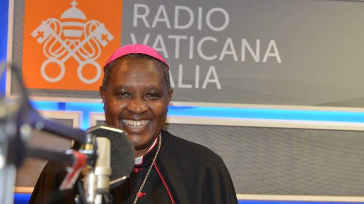 Cardinal-elect Archbishop Antoine Kambanda of Kigali