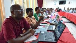 Catholic Communicators at the workshop in Mombasa, Kenya