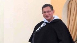 Father Gerard Francisco Timoner III, the new head of the Dominican Order.