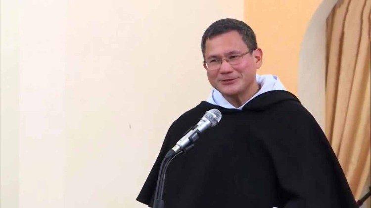 Fr. Gerard, de 51 años, ha sido hasta ahora socio del Maestro para la región Asia-Pacífico de la Orden de Predicadores