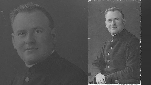 Le père Richard Henkes (1900-1945).