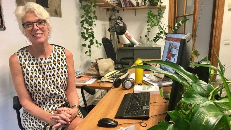 Cristiane Murray vice directora oficina prensa santa sede