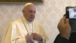 Pope Francis records video message
