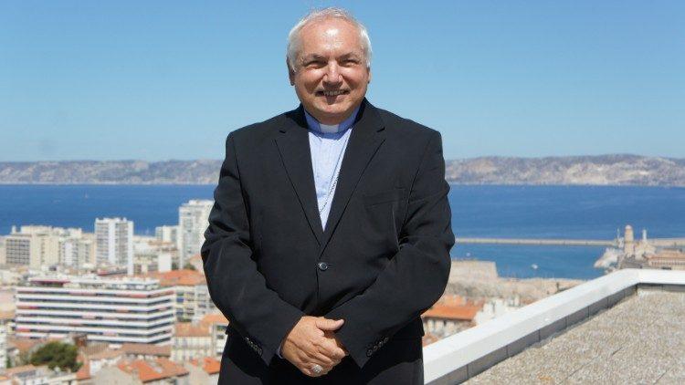 Mgr Jean-Marc Aveline, nouvel archevêque de Marseille.