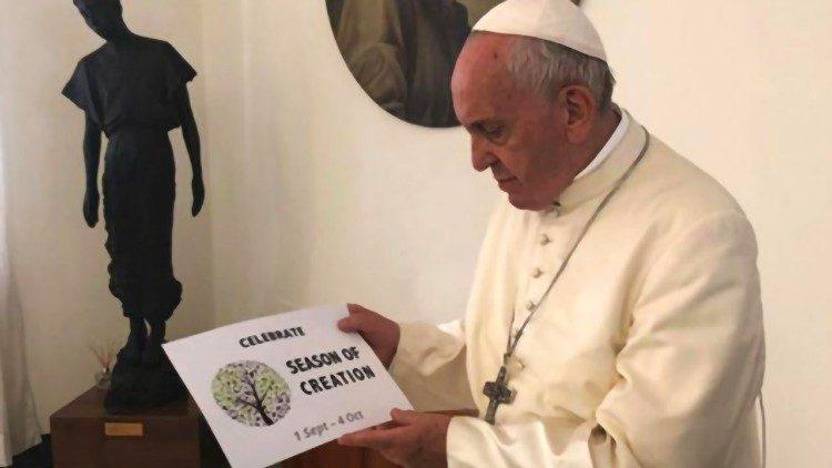 Papa Francisco, Season of creation