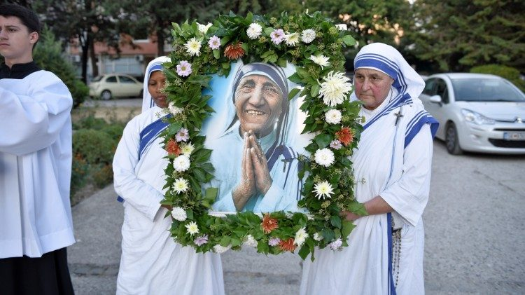2019.09.06 Celebration of the feast of St. Mother Teresa in her hometown, Skopje, North Macedonia