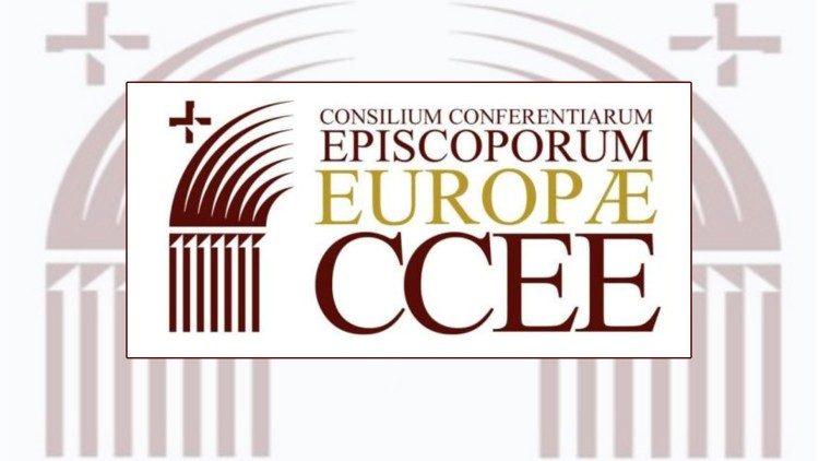 Logo Sveta Evropskih škofovskih konferenc.