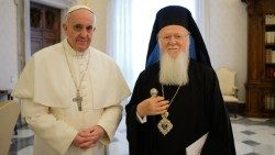 Pope Francis and Patriarch Bartholomew
