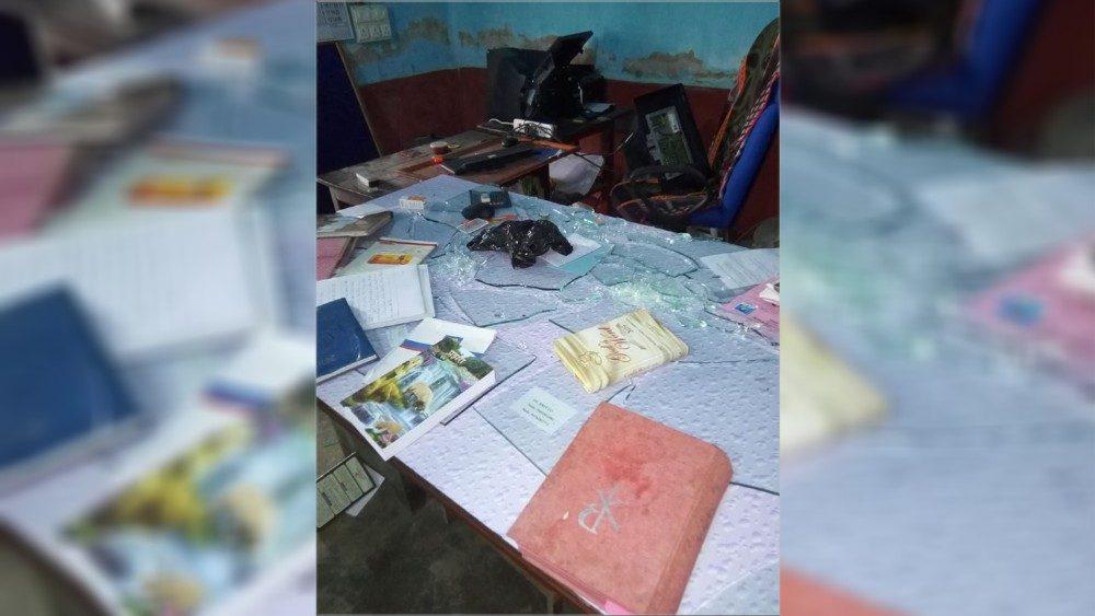 Ataque a un colegio de Jharkand