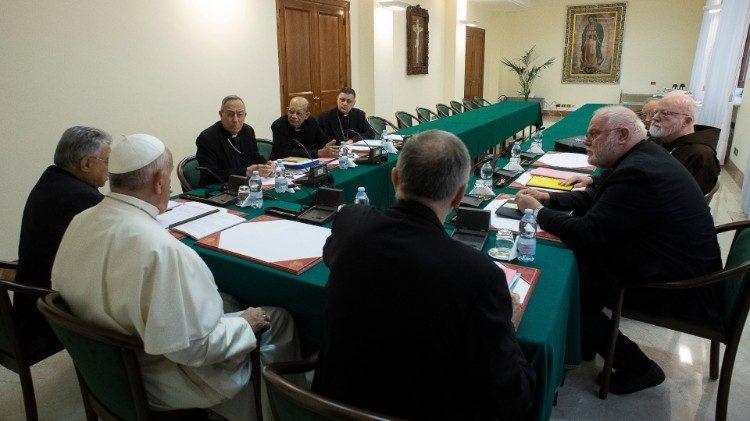Hội đồng Hồng y cố vấn C6 họp trực tuyến với Đức Thánh Cha