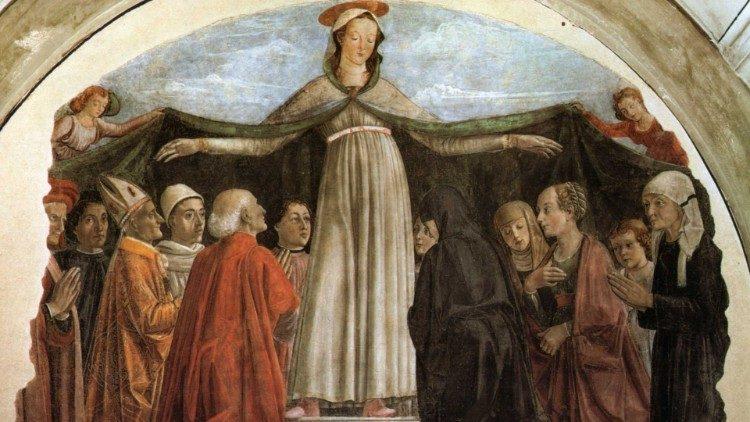Beata Vergine Maria della Mercede, opera di Domenico Ghirlandaio