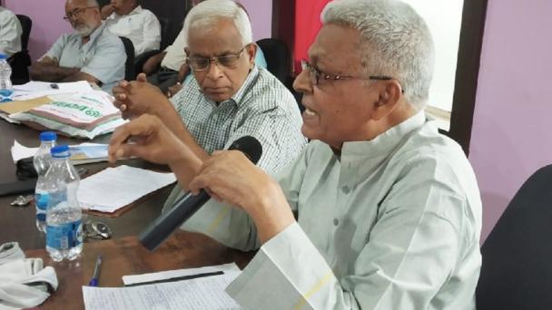 Các linh mục Ấn Độ trong một cuộc họp vào năm 2019