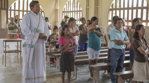 Ministering to the faithful in the Amazon