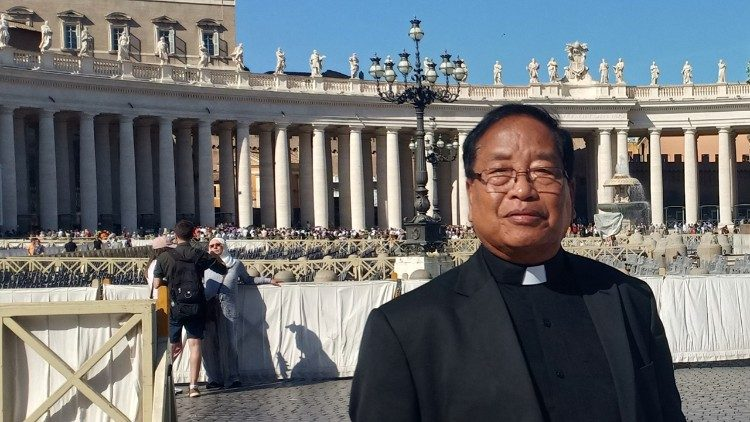 Indian Archbishop Dominic Lumon of Imphal.