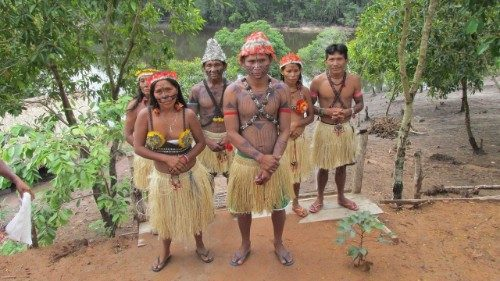 Indigenous people in the Amazon