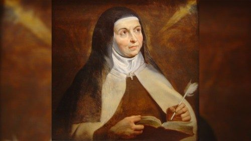 Pope: St Teresa of Ávila shows importance of women in Church and society