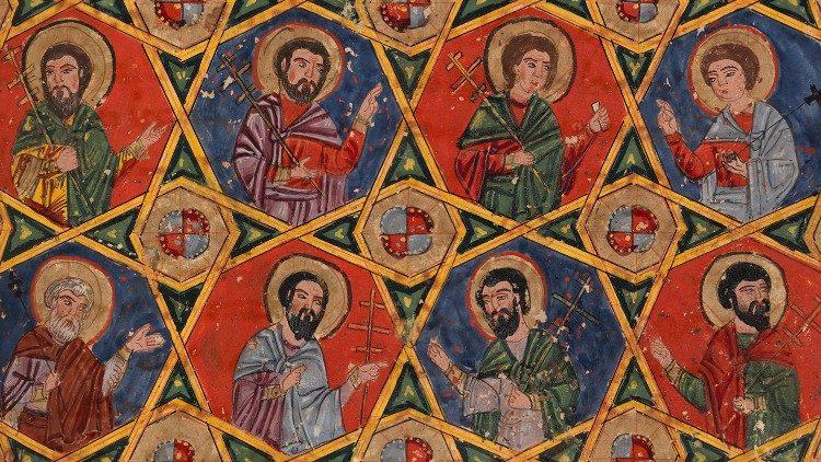 """Fomos feitos à imagem do Santo, para sermos santos: """"Sede santos porque eu sou Santo!"""" (Lev 11, 44)"""