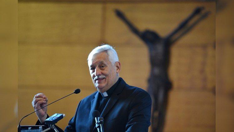 Padre Arturo Sosa, Superior General de la Compañía de Jesús.