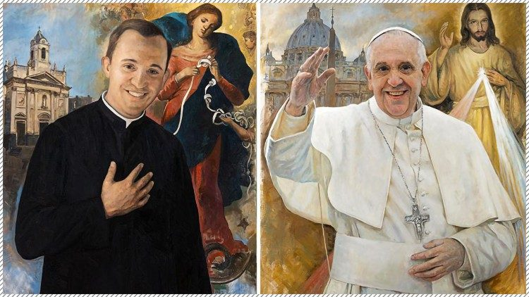 Stamps issued for last year's 50th anniversary of Pope Francis' priesthood