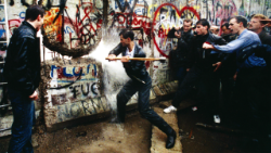 The Fall of the Berlin Wall on 9 November 1989