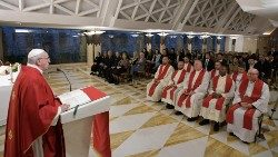 2019.11.12 Papa Francesco Messa Santa Marta