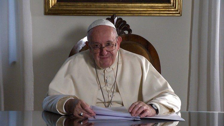 2019.11.16 Papa Francesco, videomessaggio viaggio in Giappone