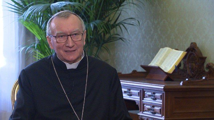 Cardinal Secretary of State Pietro Parolin