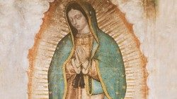 Image of Our Lady of Guadalupe, patron of Mexico
