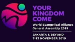 The logo for the 2019 General Assembly of the World Evangelical Alliance