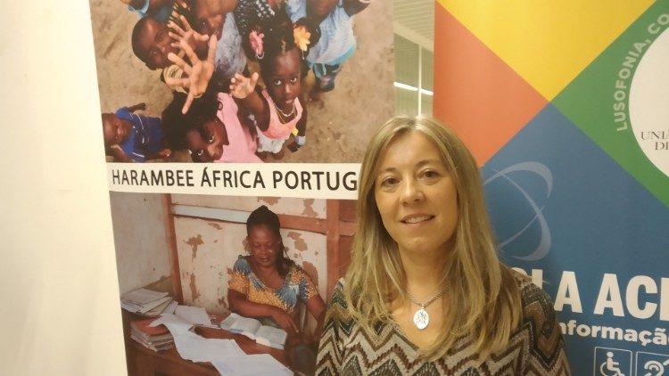 Cátia Sá Guerreiro Albuquerque, Harambee África Portugal