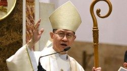 Le cardinal Tagle. Image d'illustration.