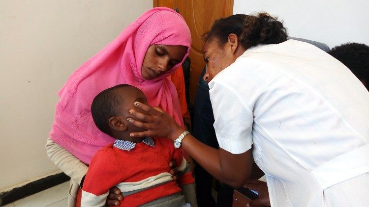 Ethiopia's Daughters of Charity regularly conduct eye screening missions in low-income communities