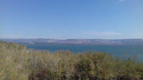 Le lac de Tibériade déborde, le site présumé de Bethsaïde inondé