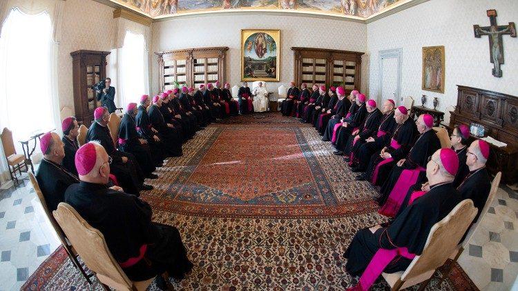 Các Giám mục Hoa Kỳ với ĐTC