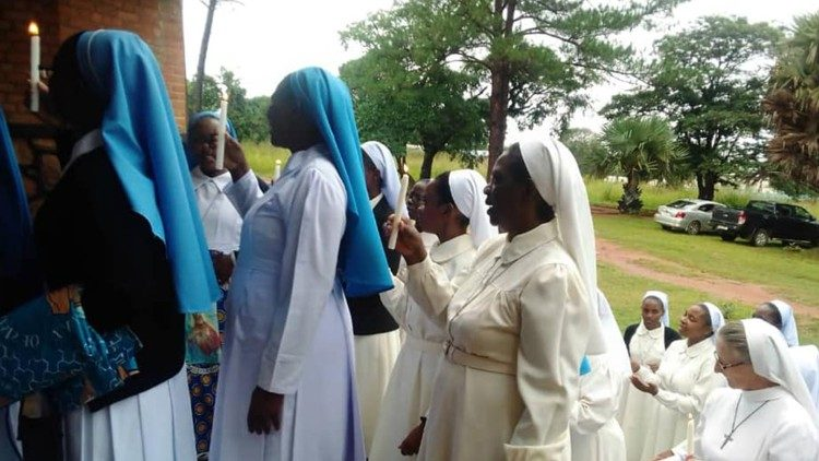 Religious sisters in Zambia celebrate the 2020 Day for Consecrated Persons