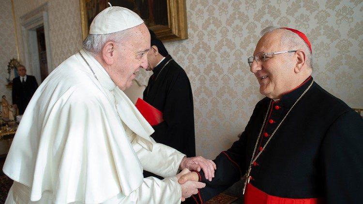 ĐTC và ĐHY Louis Raphaël Sako, Thượng phụ Công giáo Can-đê