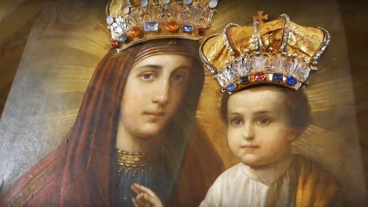 Slovacia, Klokocov (eparhia Kosice): Icoana Sfintei Maici a lui Dumnezeu