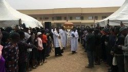 Seminarian Michael Nnadi buried in Nigeria (Courtesy Catholic TV Nigeria)