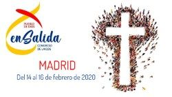Logo of the Pueblo de Dios En Salida Conference in Madrid