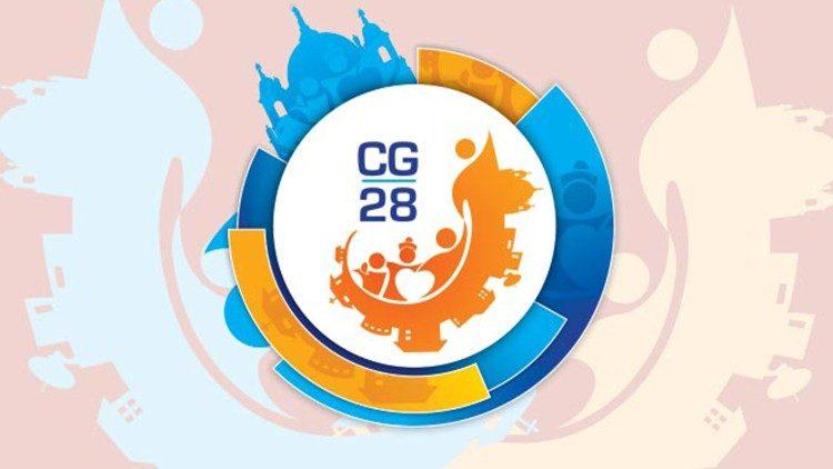 Logo 28. generalnega kapitlja salezijancev, ki poteka od 22. februarja do 4. aprila 2020