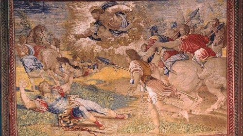 Sau 500 năm, các  tranh thảm của họa sĩ Raphael lại được treo trong điện Sixtine